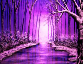 Shades of Winter by AnnMarieBone