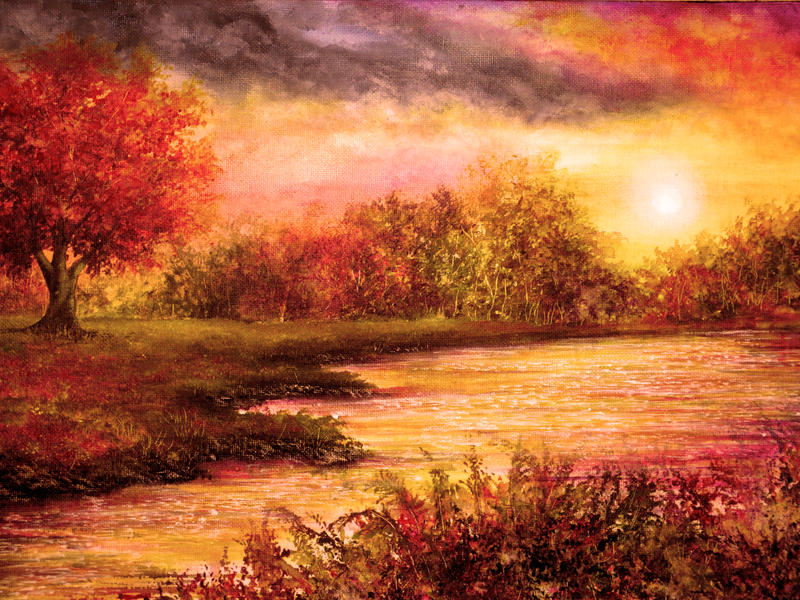 Evening Light by AnnMarieBone