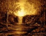 PAINTING: Evening Falls
