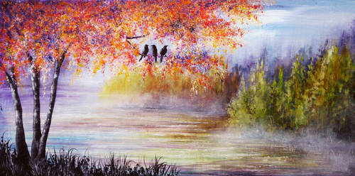 Three Little Birds by AnnMarieBone