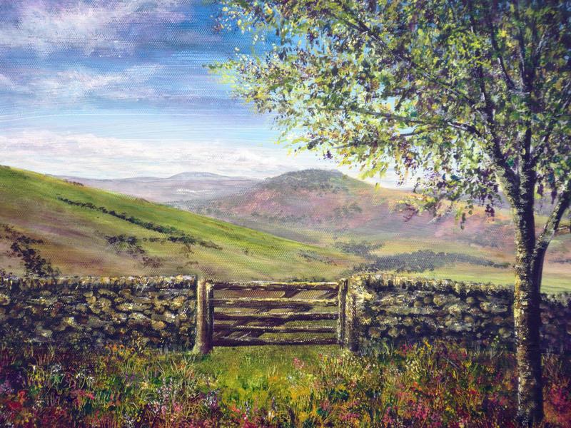 Derbyshire Stone Wall by AnnMarieBone