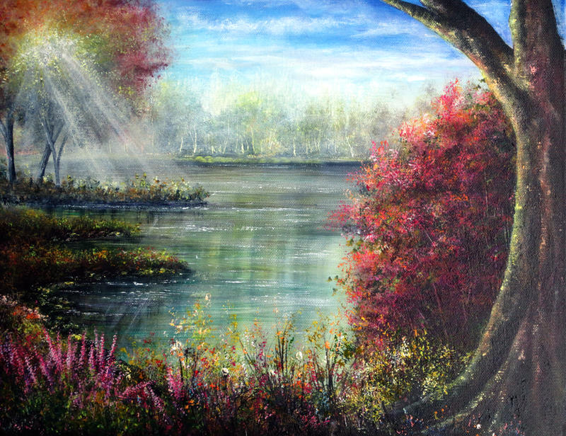 Serene Waters by AnnMarieBone
