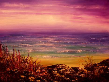 PAINTING: Gentle Sunset
