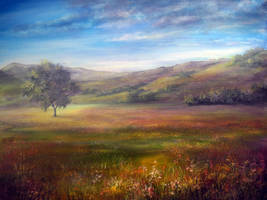 PAINTING: Derbyshire Morning