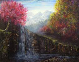 Cascade by AnnMarieBone