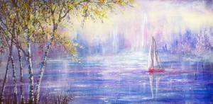 Sailing Through a Dream by AnnMarieBone