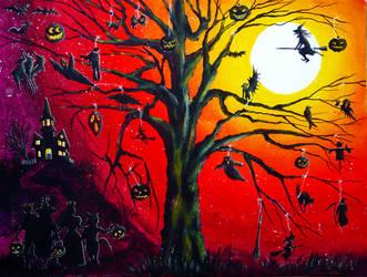 Happy Halloween by AnnMarieBone