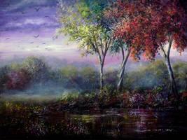 Spring Magic by AnnMarieBone