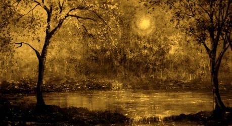 Evening Gold by AnnMarieBone
