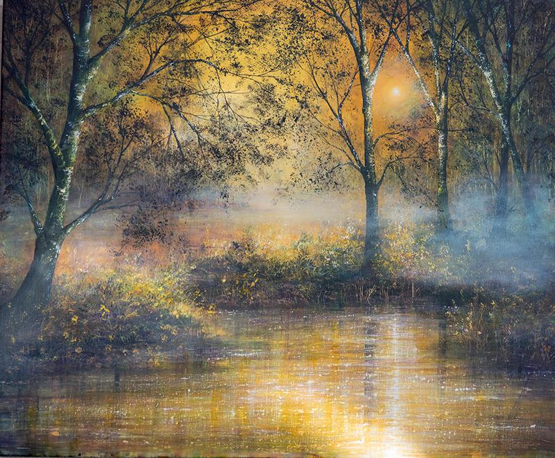 Golden Haze by AnnMarieBone