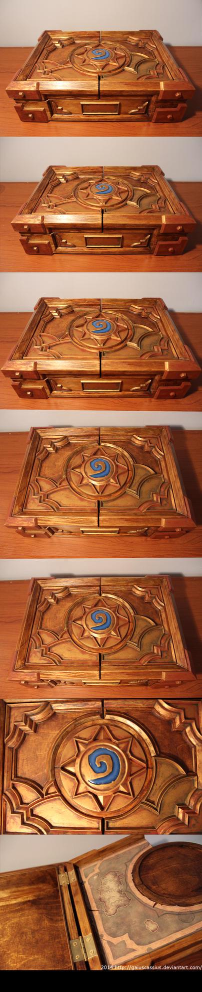 Hearthstone Box replica by CassiusProps