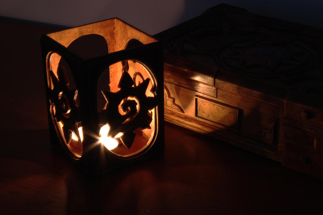 Hearthstone candle holder by gaiuscassius