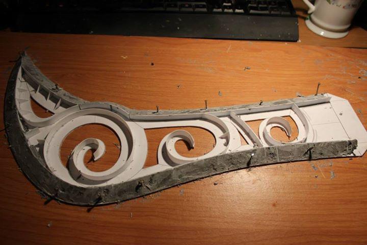 Slay Belle Katarina Sword - blade WIP by gaiuscassius