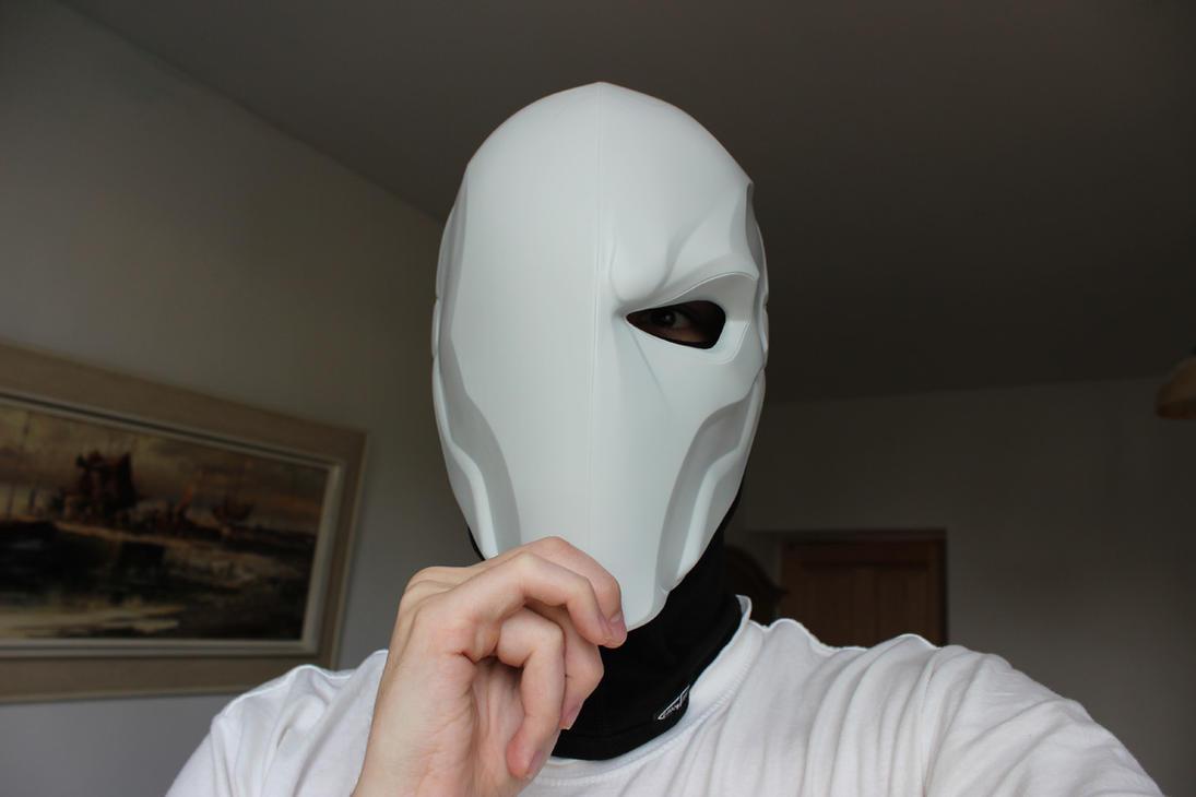 Deathstroke cosplay - 3D printed mask PART III by gaiuscassius