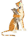 Shere Khan and Tabaqui