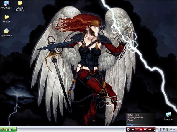 Lightning Angel Desktop