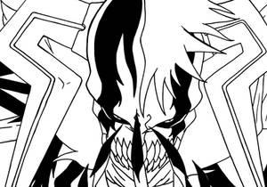 Ichigo Hollow Complete Lineart