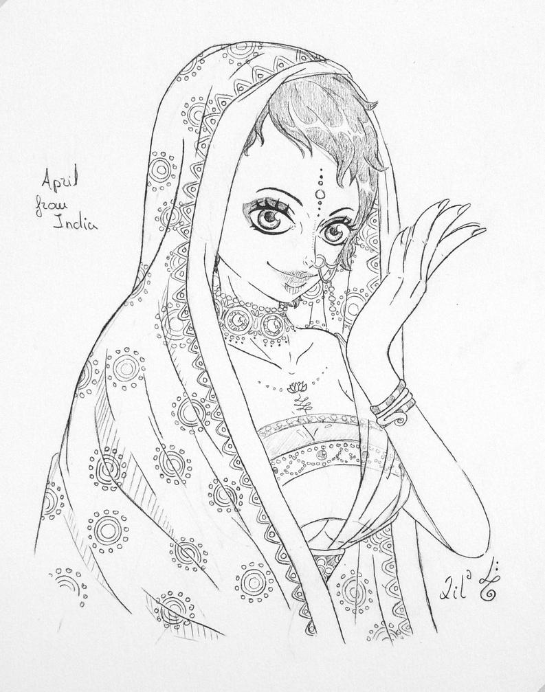 [Real World Series] April from India by CursedSnail