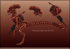 - Red Xenoborg - by Yiuokami