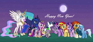 MLP: New Year's Celebration