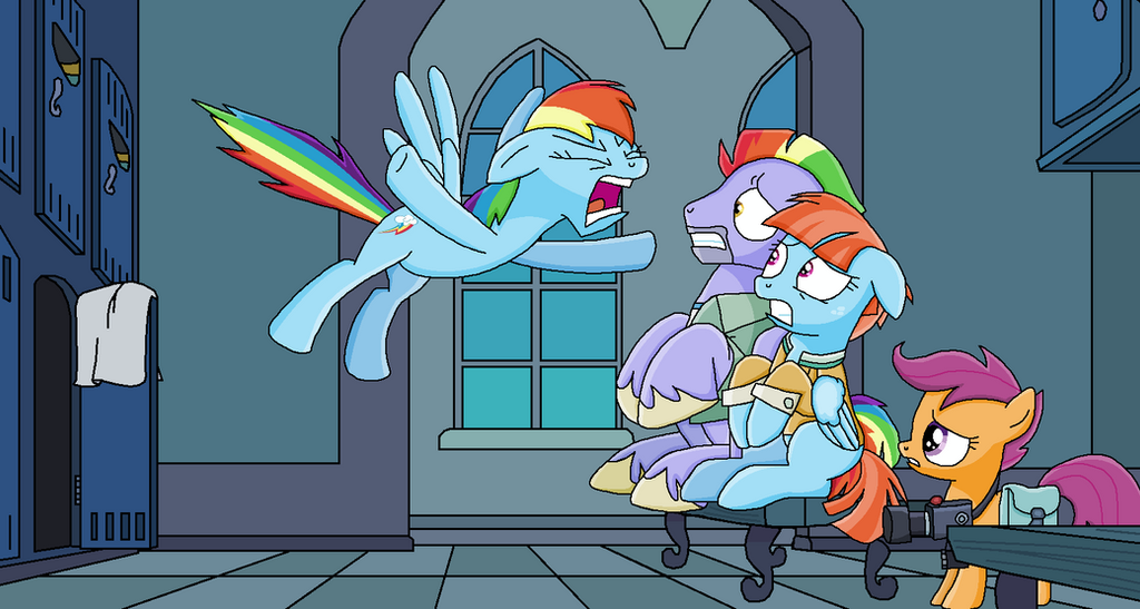Ragin' Rainbow by EmeraldBlast63