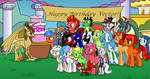 Happy Birthday Vector Brony