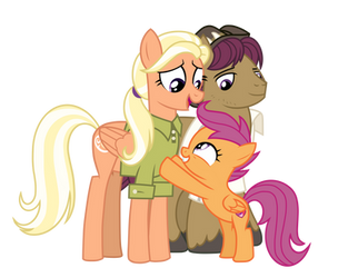 Scootaloo's Family by EmeraldBlast63