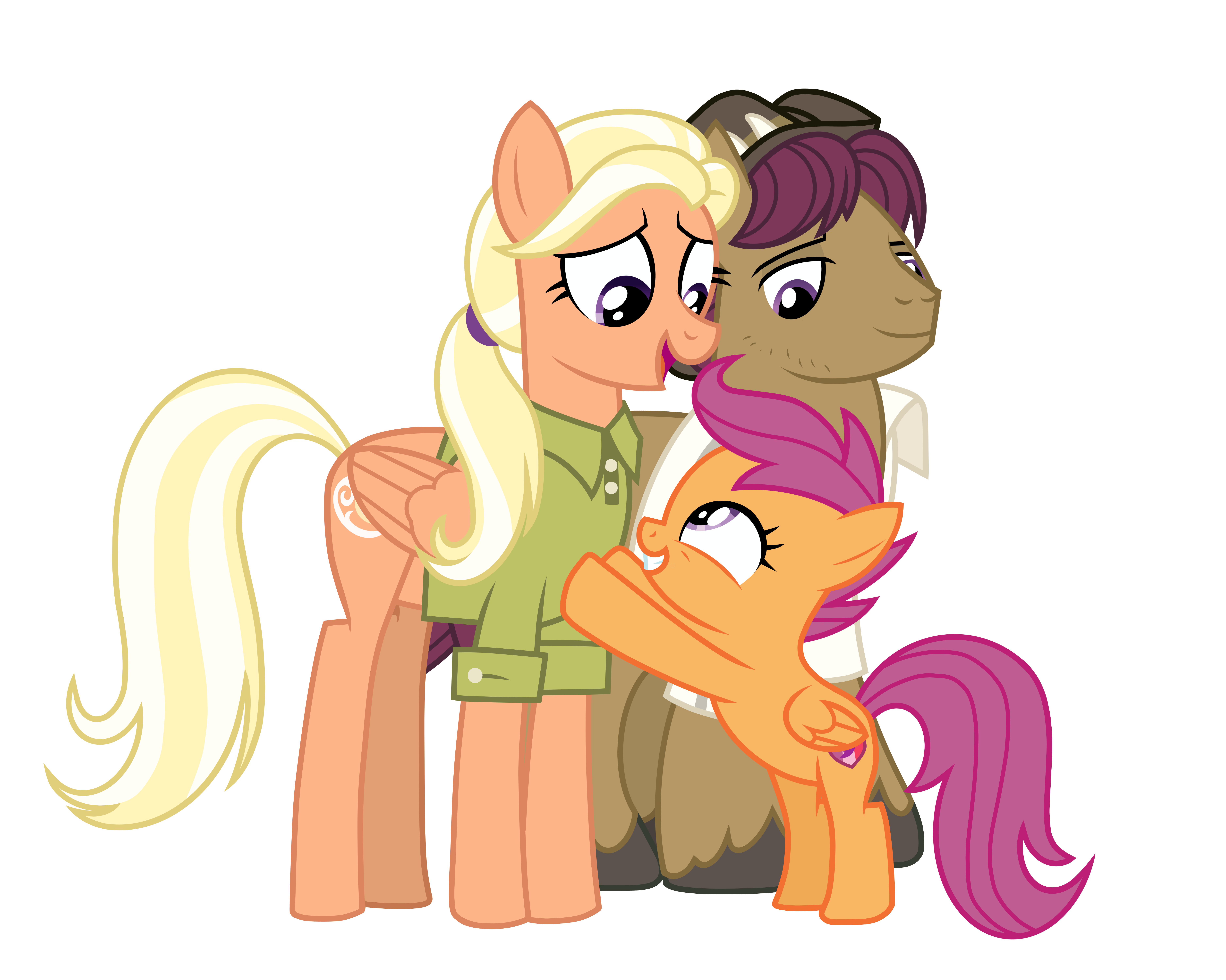 Scootaloo S Family By Emeraldblast63 On Deviantart Scootaloo is a young pegasus pony featured in my little pony: deviantart