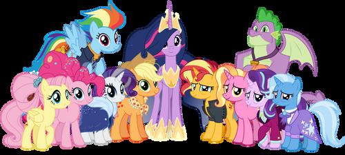 The Future of Friendship (Happy 9th Anniversary!) by EmeraldBlast63