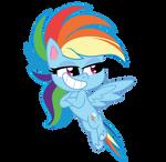 Chibi Rainbow Dash by EmeraldBlast63