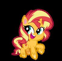 Chibi Sunset Shimmer