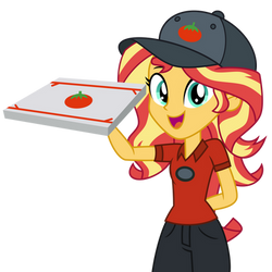 Bacon Pizza by EmeraldBlast63
