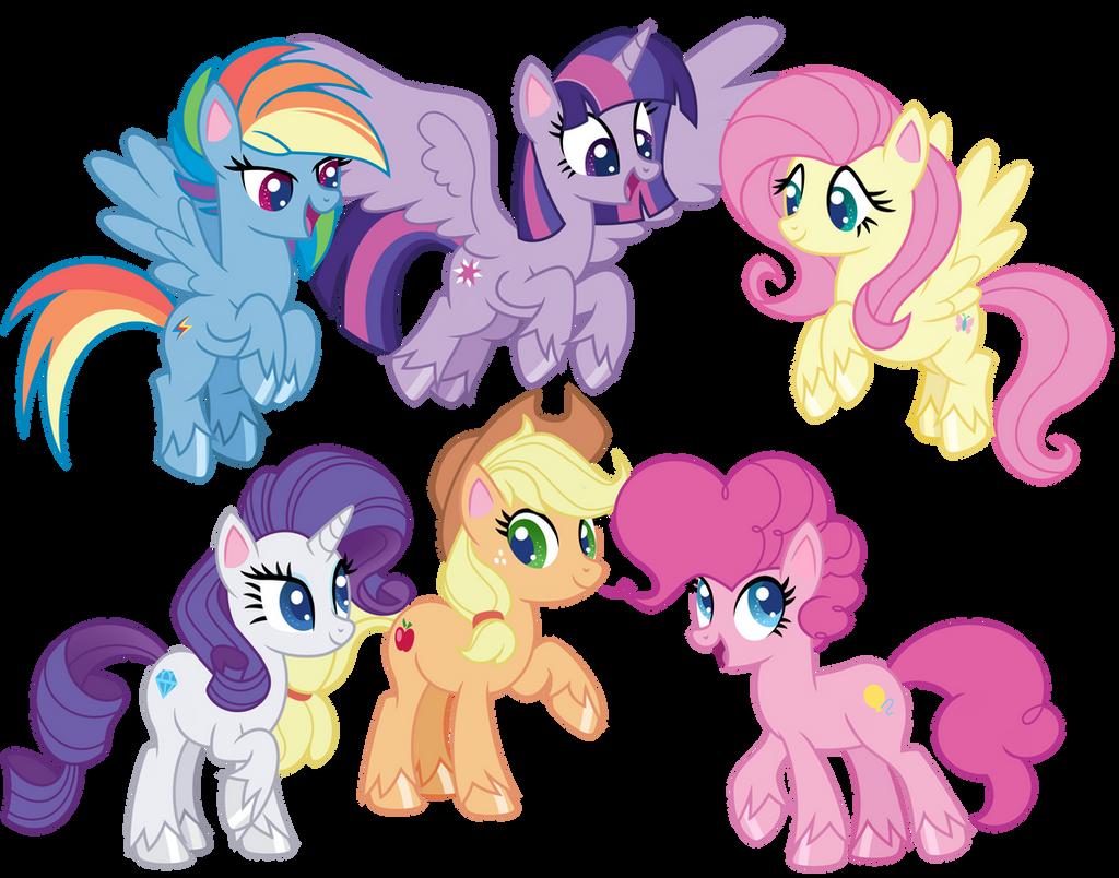 pony_life_mane_six_by_emeraldblast63_de2