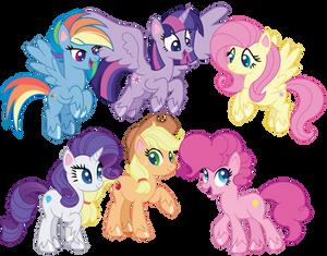 Pony Life Mane Six