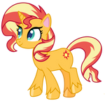 Pony Life Sunset Shimmer by EmeraldBlast63