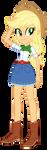 Applejack Redux by EmeraldBlast63