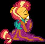 Kimono Sunset Shimmer