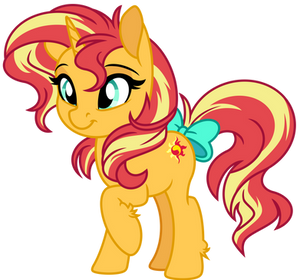 Bow Sunset Shimmer