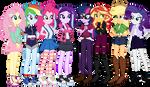 University Girls: Bachelorette Besties by EmeraldBlast63