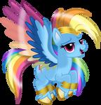 G5 Remastered Rainbow Dash by EmeraldBlast63