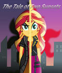 The Tale of Two Sunsets (Cover Art) by EmeraldBlast63