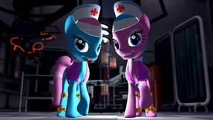 Pony Nurses: Aloe and Lotus Blossum
