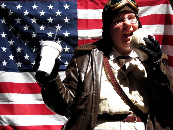 Hetalia: The Hungry Patriot by NeptuneButterfly
