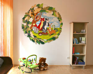 Wallpainting for a Baby's room