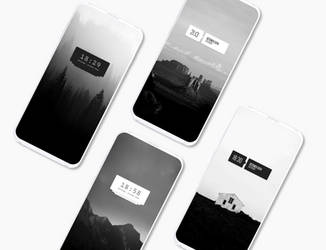 Mono for KWGT 2.0.0 by Doug385