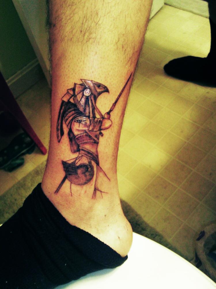 Horus Egyptian God Tattoo by ngoc50 on DeviantArt