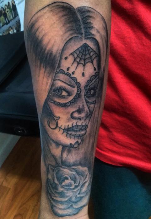 Santa Muerte Tattoo by ngoc50 on DeviantArt
