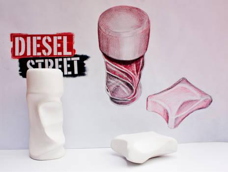 Diesel Street - Perfume Bottle