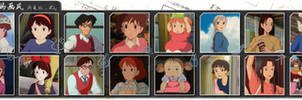 Hayao Miyazaki Style Collection by LePtC