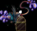 Ancient Bat Raffle Extra